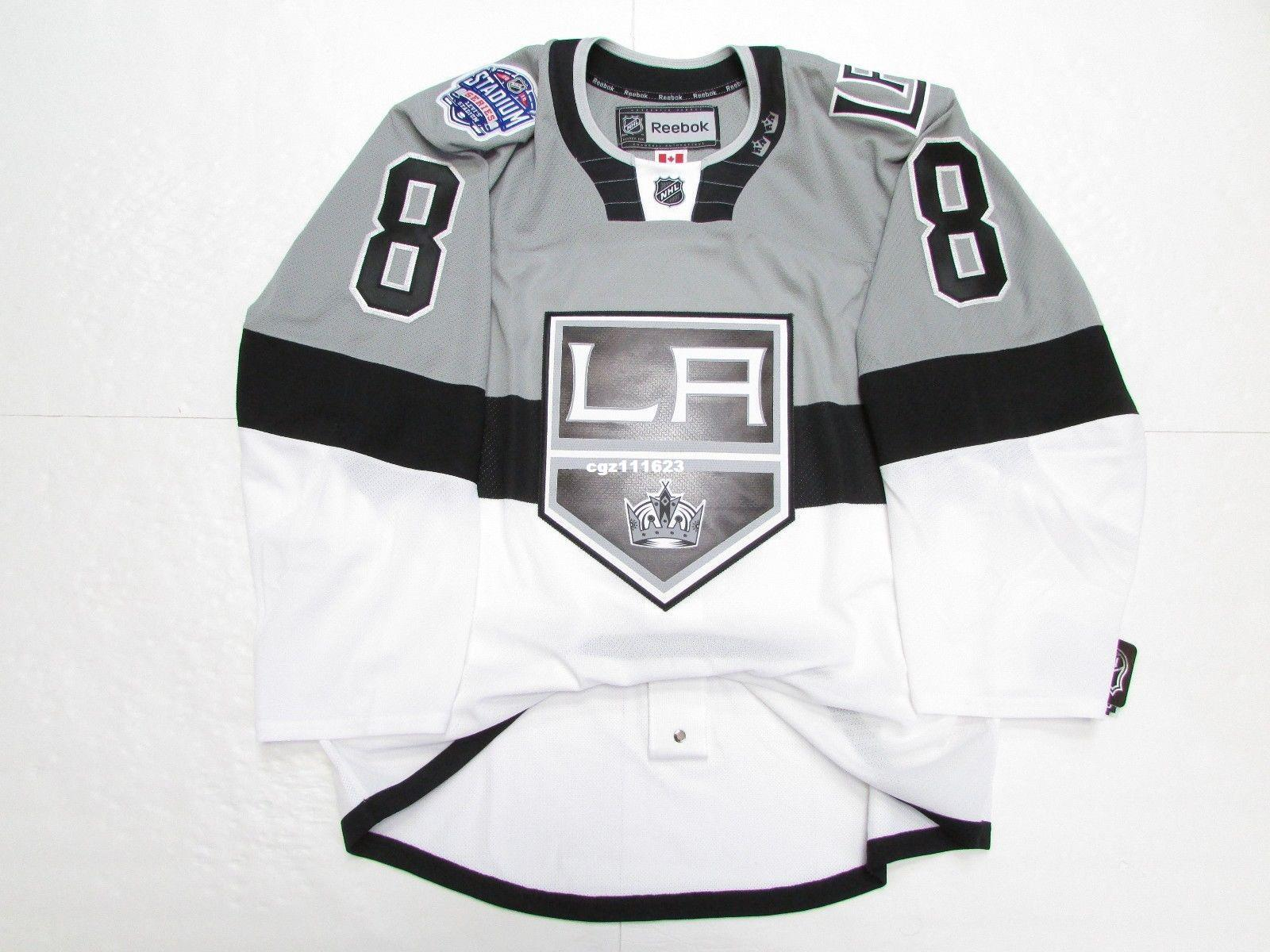 f58846302 Cheap Custom DREW DOUGHTY LOS ANGELES KINGS 2015 STADIUM SERIES Stitched  JERSEY Cheap Hockey Jerseys CCM Hockey Jersey Wholesale Hockey Jersey  Online with ...