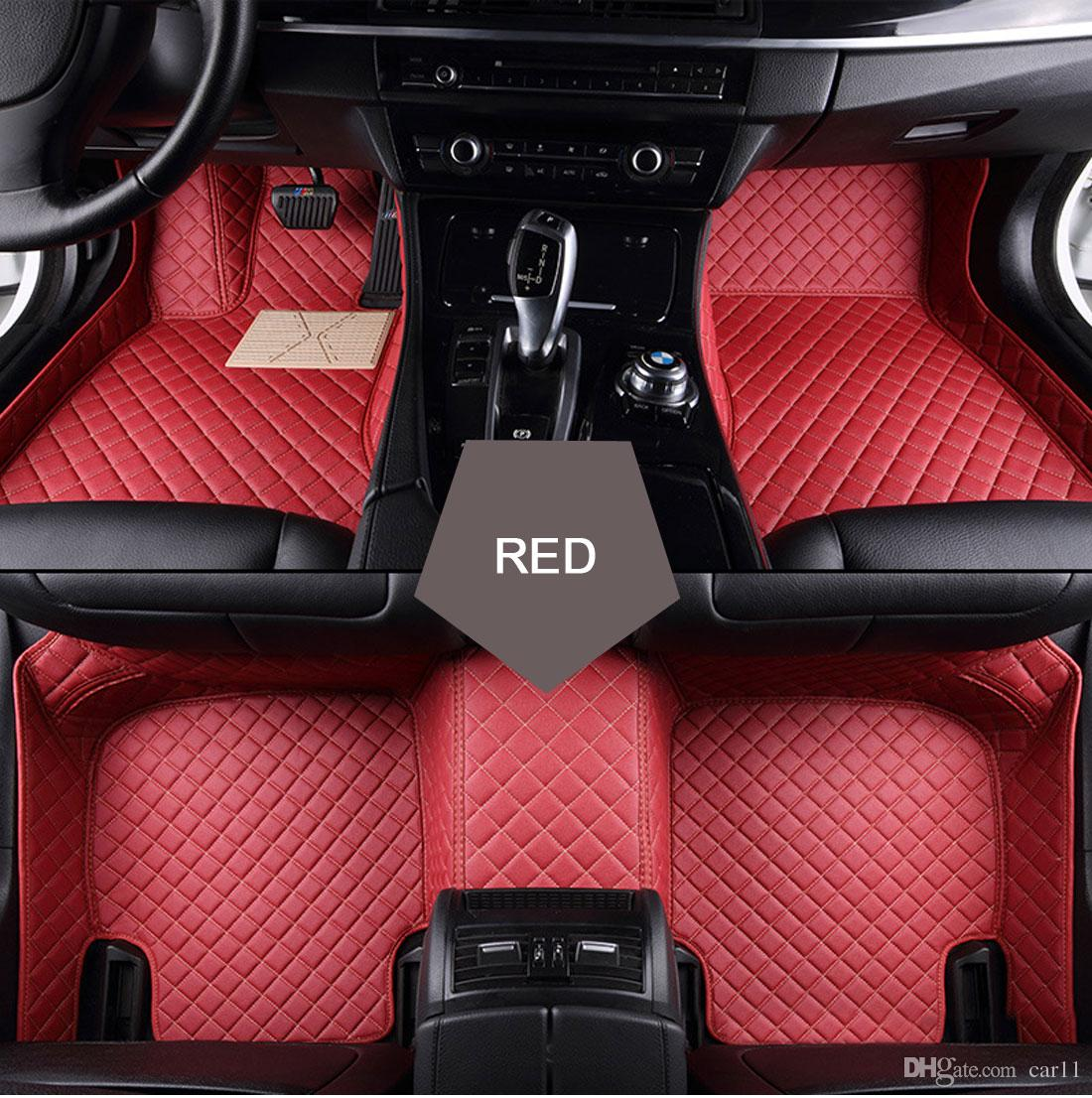 car floor mats for women. Car Floor Mats For Toyota Hilux Navarre Fit Ford Ranger Mazda BT50 Mitsubishi Triton LC200 PU Leather Car-styling Carpet Mat Artificial Women O