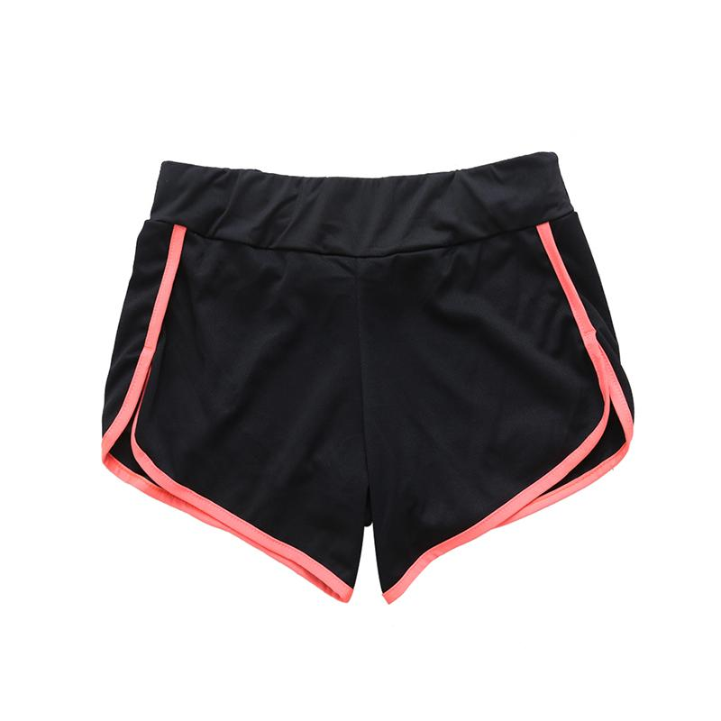 6a81bfc802f3 2019 Solid Cotton Sports Shorts Thin Ladies Girls Training Fitness Sports  Running Gym Shorts Women 2017 From Masn