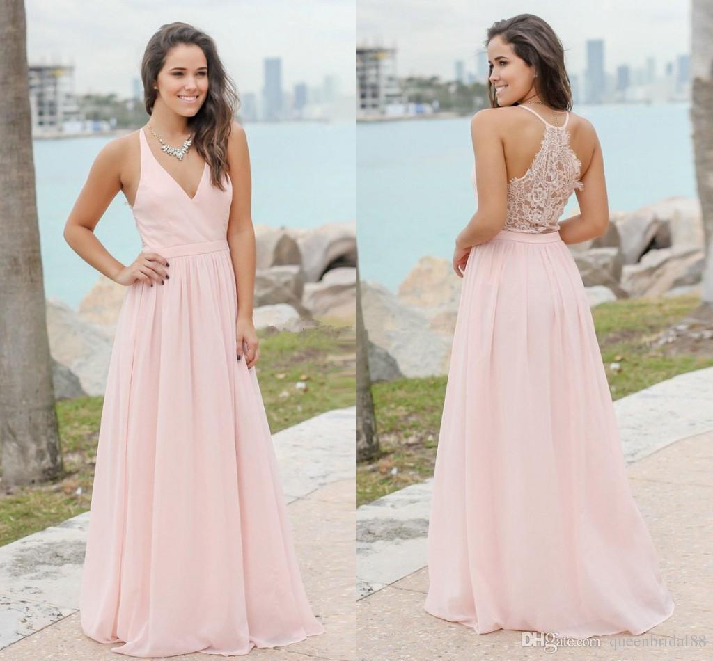 Vestido formal para playa