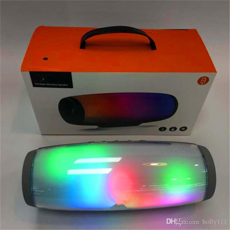LED Bluetooth Speaker Portable Wireless Speaker waterproof Stereo MP3 Player for phone computer DHL