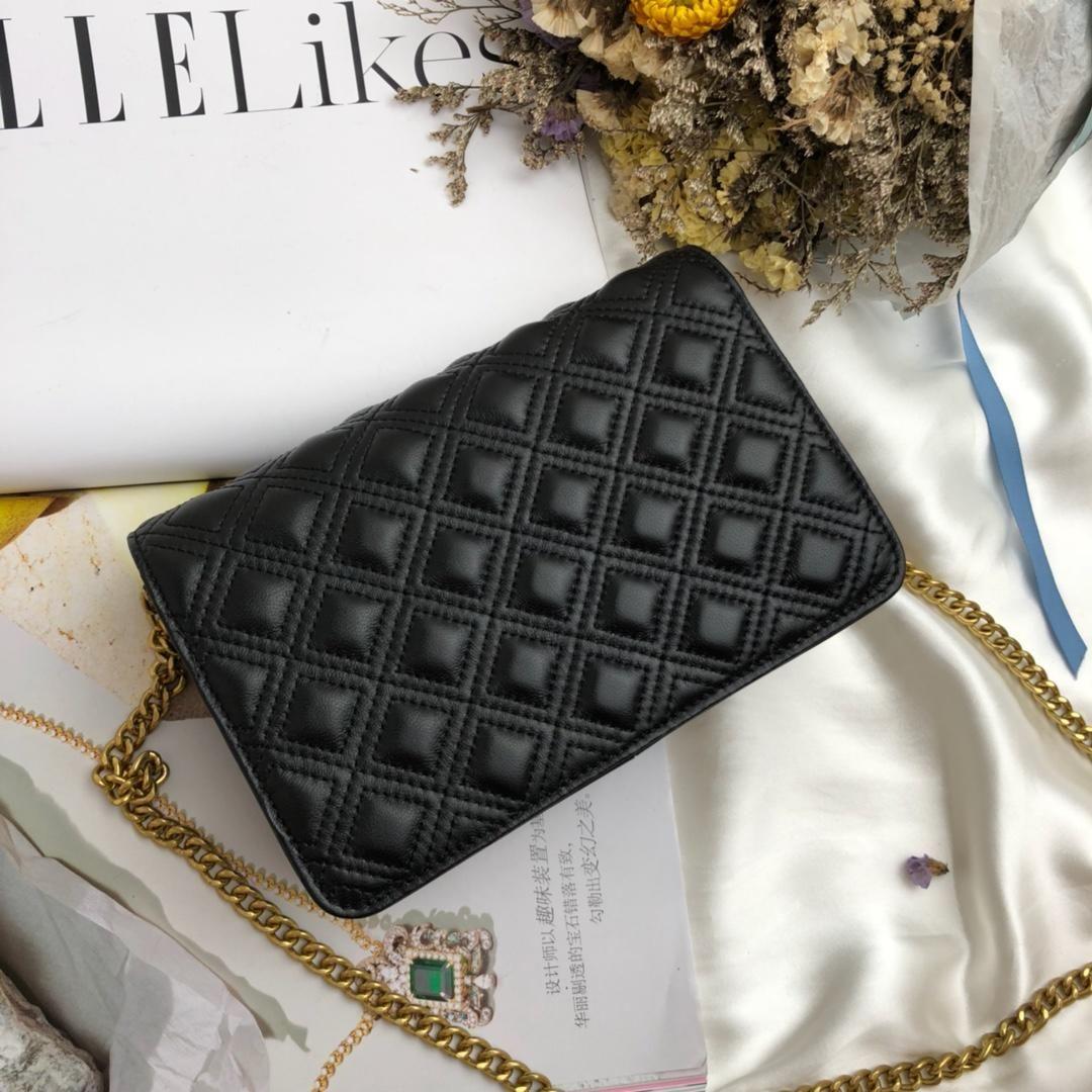 22c9d7ad3e76 TO Famous Brand Dark Checker Grain Designer Handbags Fashion Style Luxury Female  Women Lock Soft Cowhide Real Leather Shoulder Bag Womens Bags Black Handbag  ...