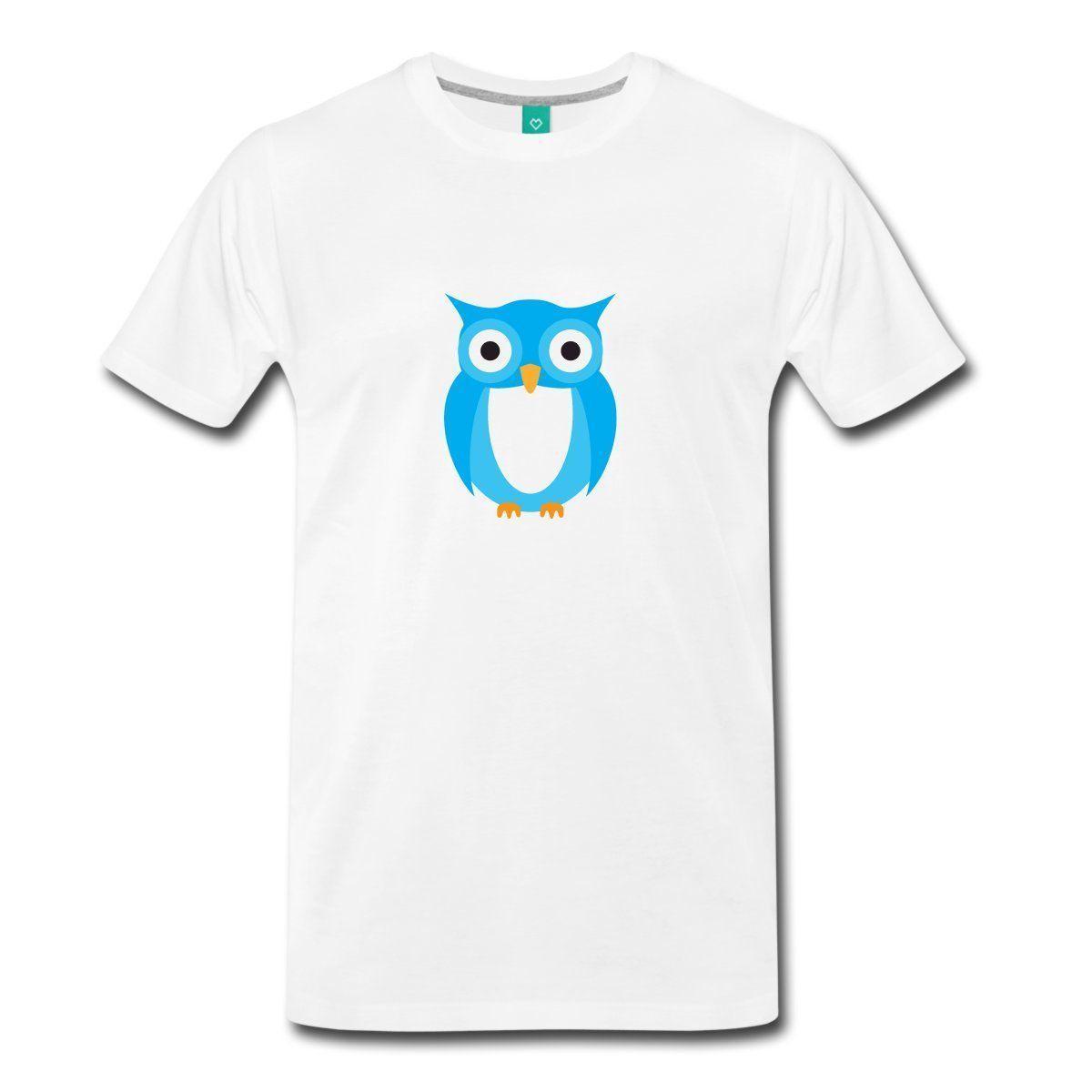 Clothing T Shirt Crew Neck Short Blue Owl Cartoon Compression Mens T Shirts  Funny T Shirt Designs Make A Tee Shirt From Shortshirteemachine b5082f770d49