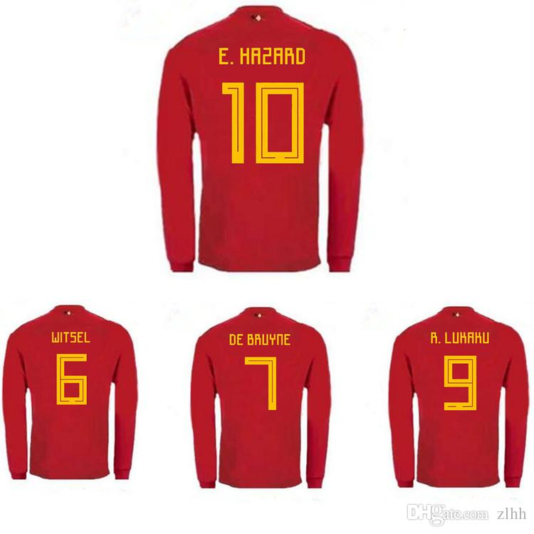 d48b50d5111 belgium 19 mousa dembele red home long sleeves 2016 2017 country national team  soccer jerseys