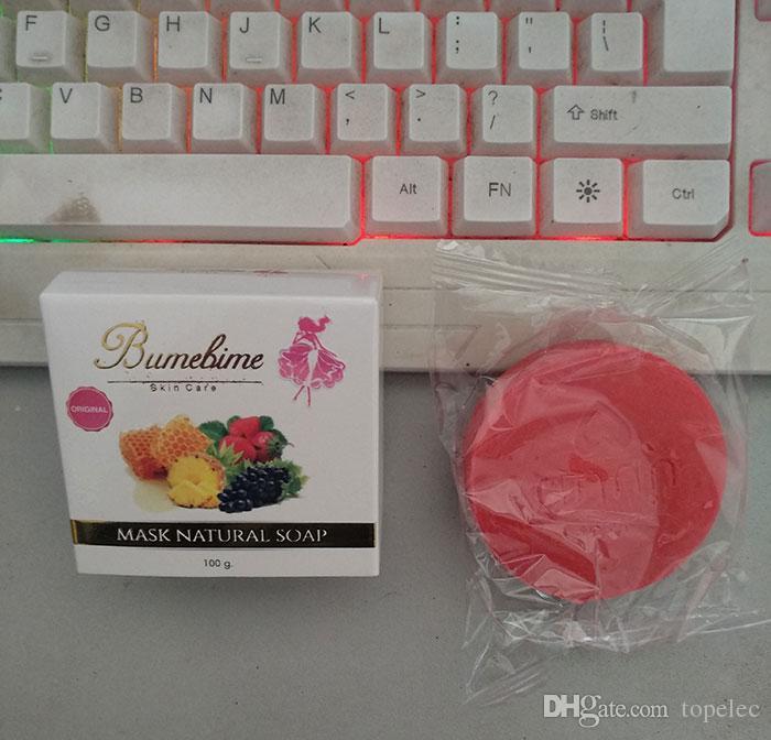 Bumebime Handwork 화이트닝 비누와 과일 필수 에센셜 오일 화이트 브라이트 오일 비누 무료 배송 DHL