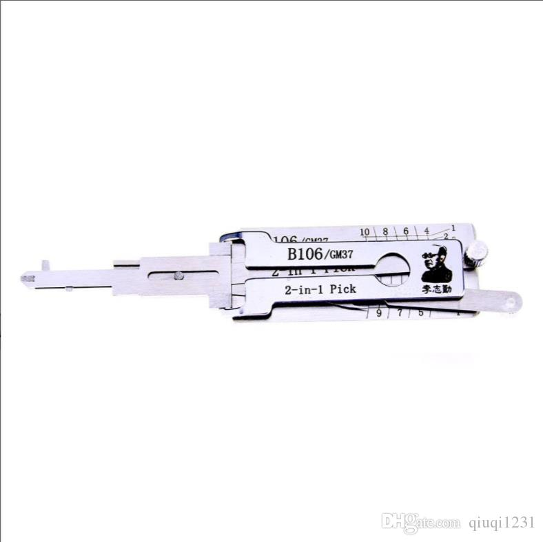 Vente chaude Best Lishi Auto Tools 2in1 Pick Lishi GM37 2 en 1 Lock Pick and Decoder pour GMC