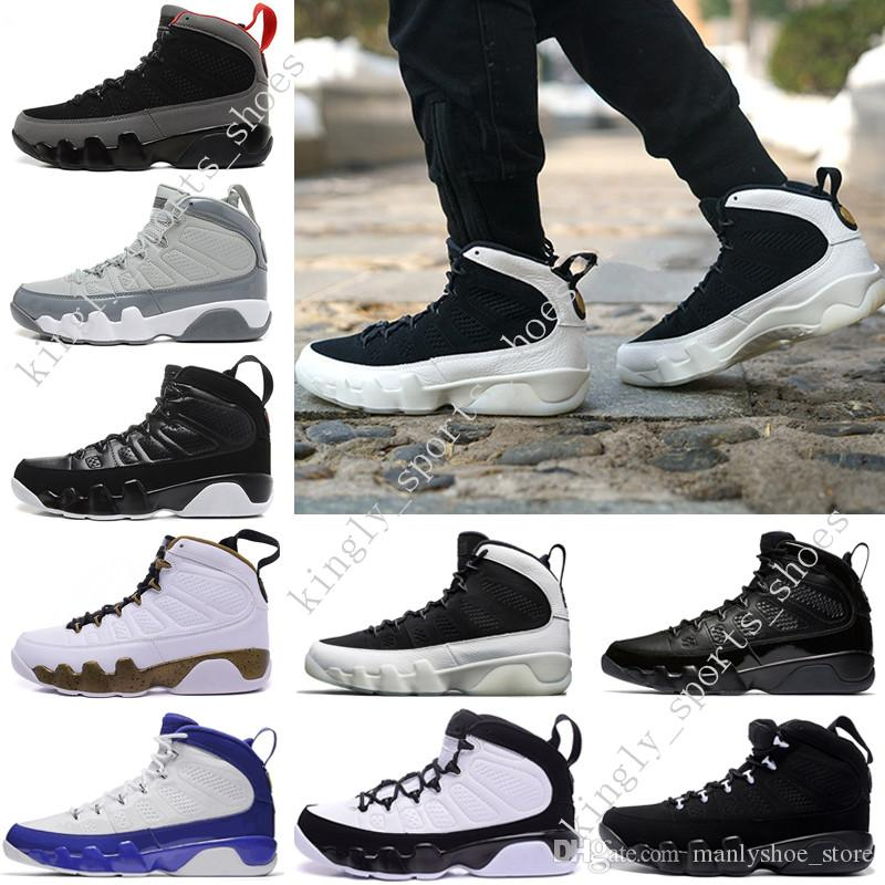 3779f94ec23870 2018 2018 Top Quality 9 Man Basketball Shoes Space Jam Anthracite Barons The  Spirit Doernbecher 2010 Release Countdown Pack Sneakers Designer From ...