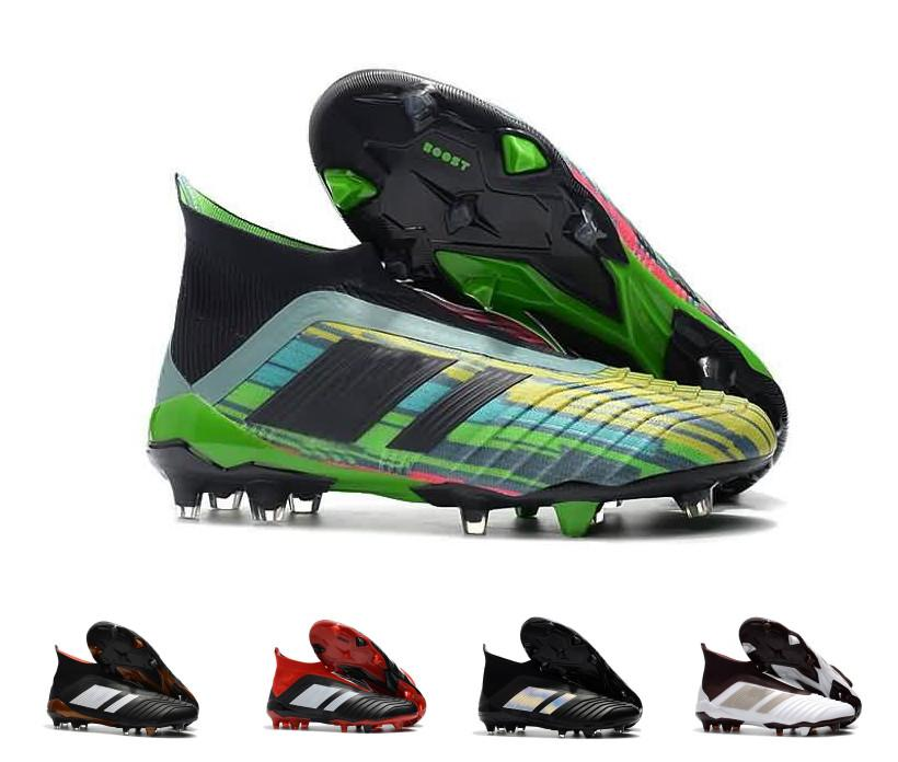 En Cristiano Fg Calcio Ronaldo Intérieur Purechaos Pour 18 De Soccer Football Hommes 1 Scarpe Cuir Predator Chaussures Purecontrol DIE9eWH2Yb