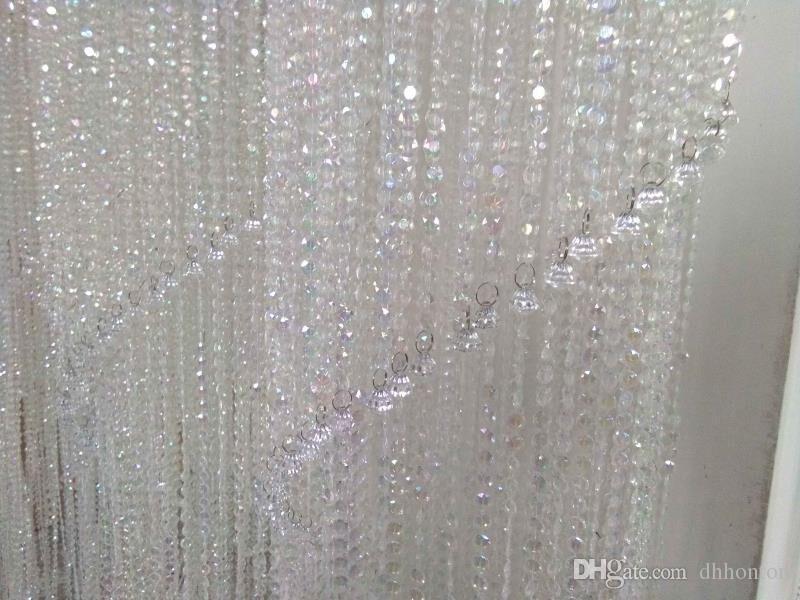 الاكريليك الكريستال الزفاف محور ديكورات الأزياء الفاخرة الاكريليك الكريستال الزفاف الطريق الرصاص 180 سنتيمتر / 120 سنتيمتر طويلة 30 سنتيمتر / 20 سنتيمتر قطر WT072