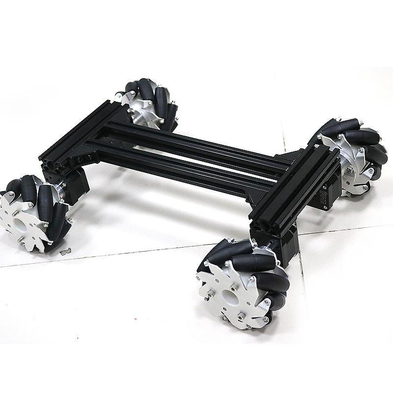 Large Smart Mecanum Wheel Car RC Robot Omni Car Kit Metal Chassis ...