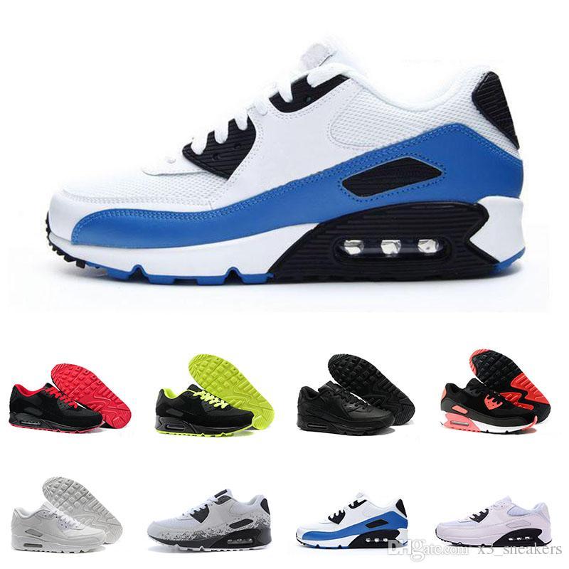 d92b139f Compre Comercio Al Por Mayor 2018 Nueva Llegada Cojín Nike Air Max 90  Deportes De Hielo Zapatos Corriendo Para Hombres Oregon EE. UU.