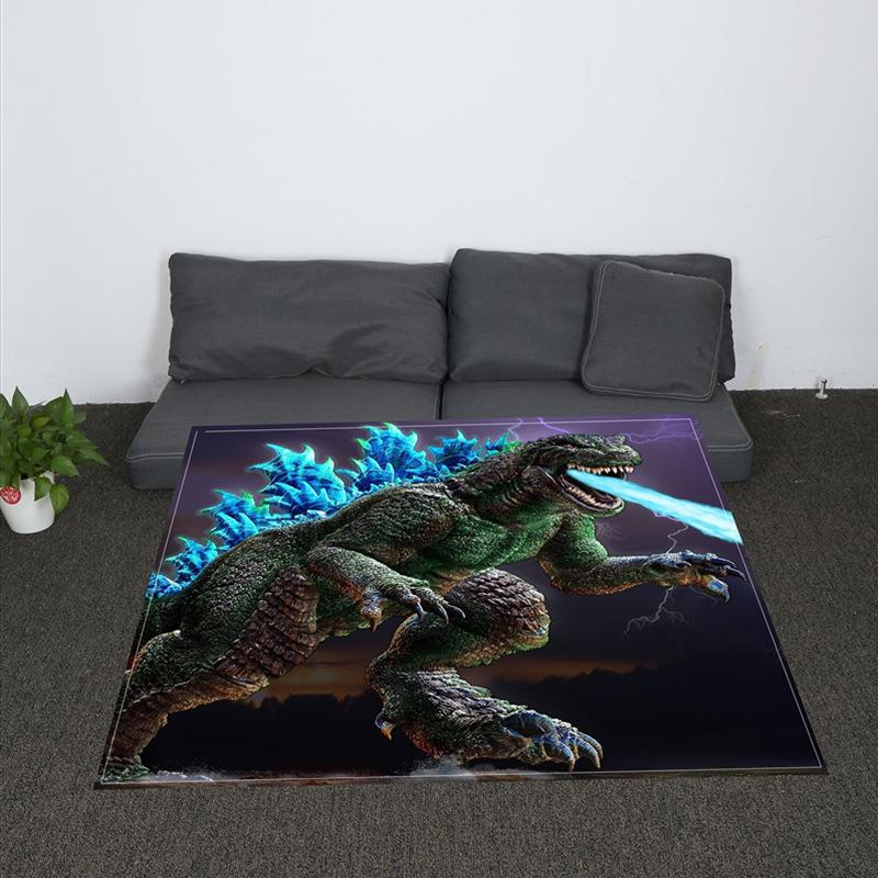 Nordic Soft Jurassic Dinosaurs Printing Throw Blanket Coral Plaid Unique Dinosaur Throw Blanket