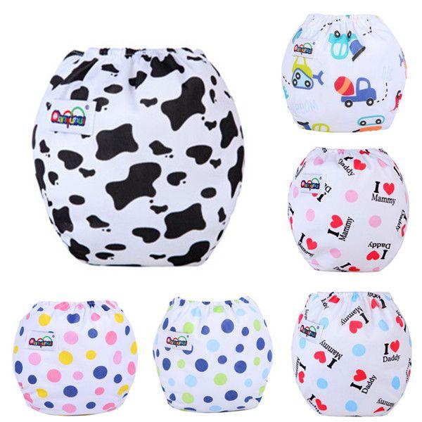 / Pañales para bebés Pañales de tela Pañales reutilizables Pañales ajustables 14 Estilo puede rastrear QD24