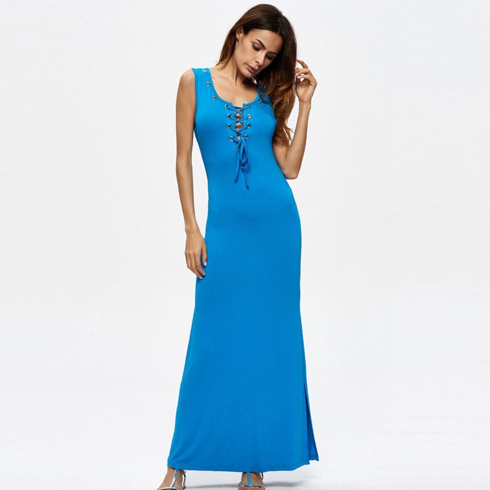 Blue Lace Summer Dresses