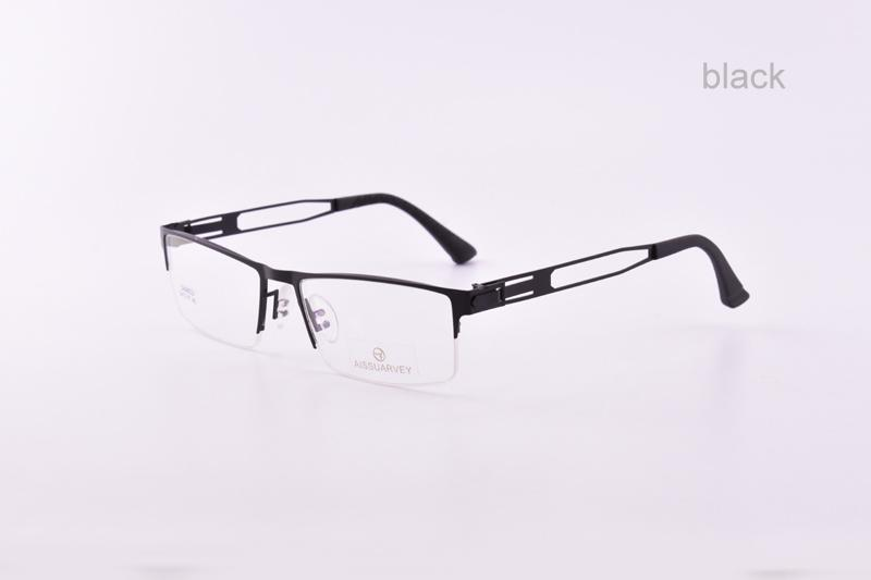 880402ebb2 Optical Frame Men s Women s Eyeglasses Frame Half Rim Alloy Fashion ...