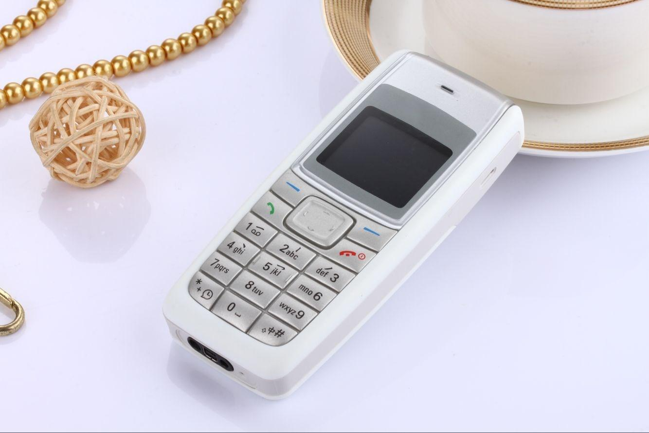 Goodphones Bar phone unlocked FM sim card stand by 1.36 inch 1110 cell phone with box cable FM radio called