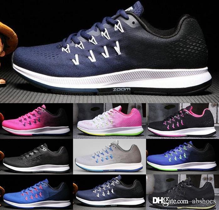 398d67d09bed 2018 New Arrival Zoom Pegasus 33 Sport Shoes Running Shoes Men Air ...