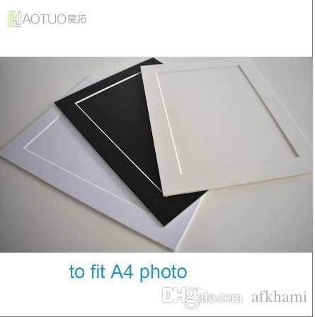 ht 45 degree bevel cut acid free 2mm photo frame for a4 picture