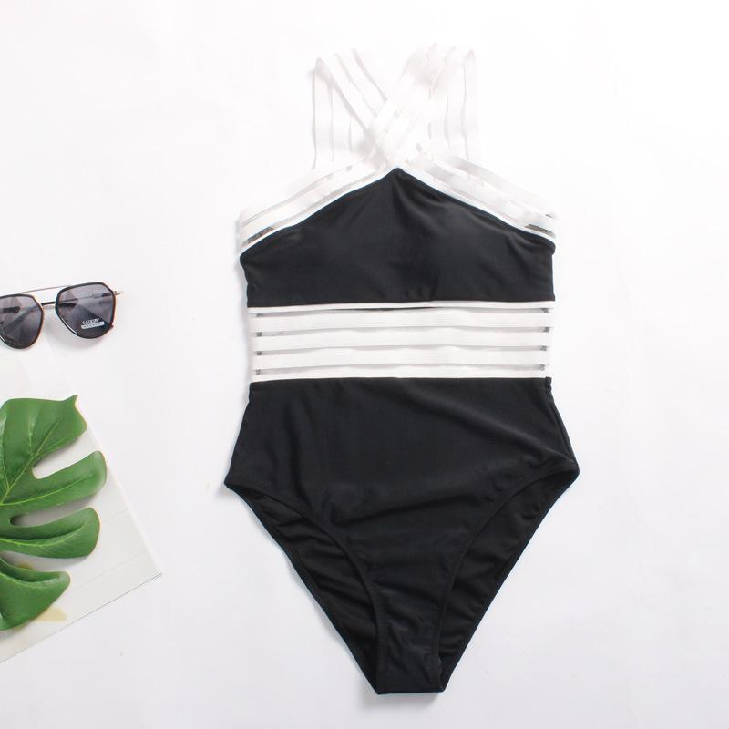 81ca89af505 2019 Baisha Splicing Bikini Swimsuit From Atteaof, $18.09 | DHgate.Com