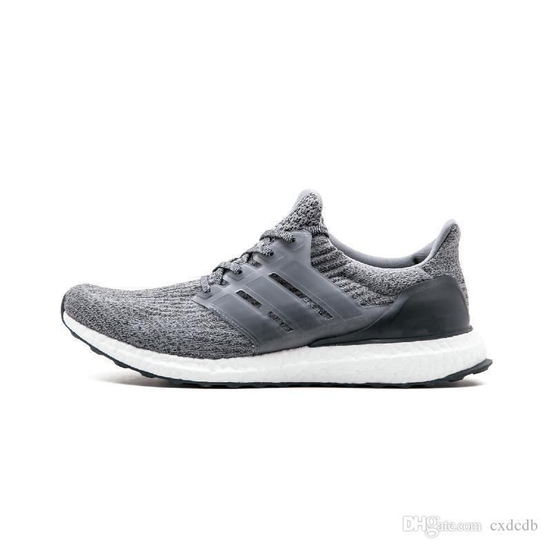 227cecdd362 Cheap Ultra3.0 III Uncaged Running Shoes Men Women 4.0 IV Sneaker Primeknit  Runs White Black Athletic Sports Shoe 36-45