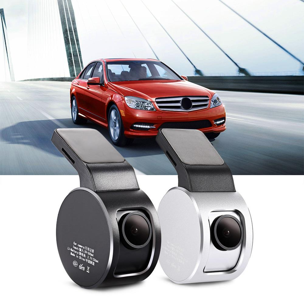 A5 170 Degree Car DVR Active Interactive Vehicle Recorder Monitor de estacionamiento Gravity Induction Built-in Lithium-ion Battery