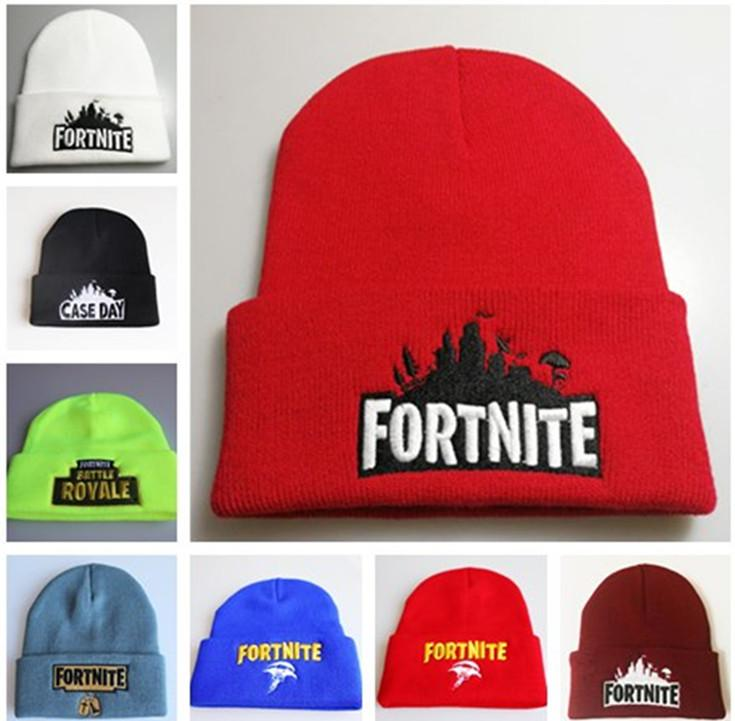 2019 Game Fortnite Winter Knitted Hat Teenager Cap Beanie Embroidery  Knitting Fortnight HipHop Hats Soft Warm Skullies Bonnet Outdoor Beanies  From ... 5185c3dd5870