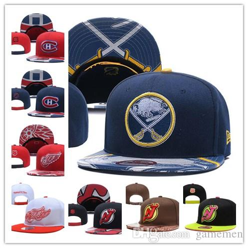 Hat Buffalo Sabres Ice Hockey Knit Beanies Embroidery Adjustable Cap ... 302723820a0b