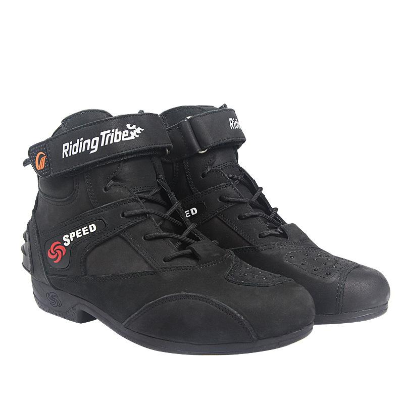 e0a4c8befe5cf3 Riding Tribe PRO-BIKER Motorcycle Boots 2018 New Design Waterproff ...