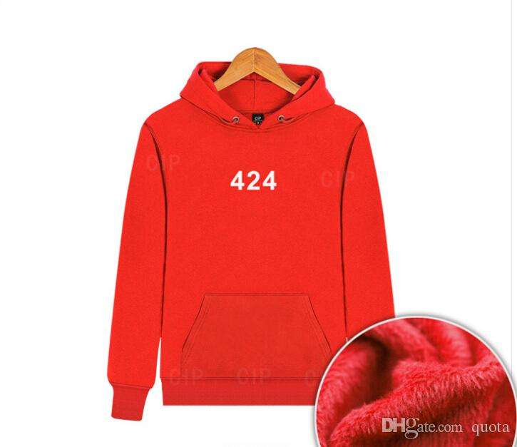 de8f88e06 2019 424 Hoodies Printed Pullover Hoodie Men Women High Quality Hooded  Sweatshirt Spring Autumn Cotton Sweater Outerwear From Quota, $36.76 |  DHgate.Com