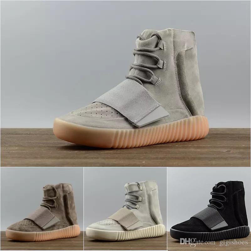 7bf3be5926eb3 HOT 750 Light Grey Gum Glow In The Dark Kanye West Shoes Basketball Shoes  Sneakers 750 Men Sports Casual Sneakers Sport Shoes For Girls Tennis Shoes  Kids ...