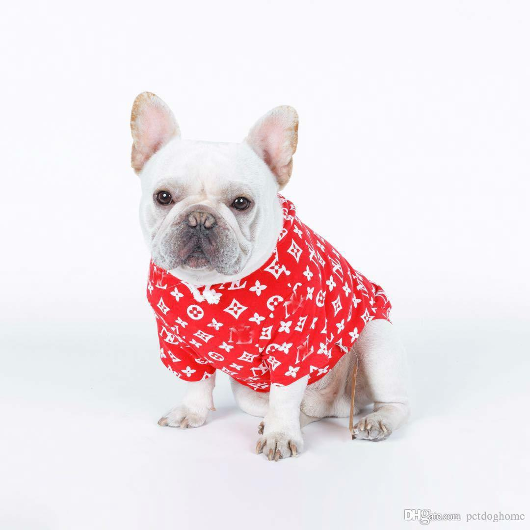 Dog Clothes For Small Dogs French Bulldog Hoodies Chihuahua Coat