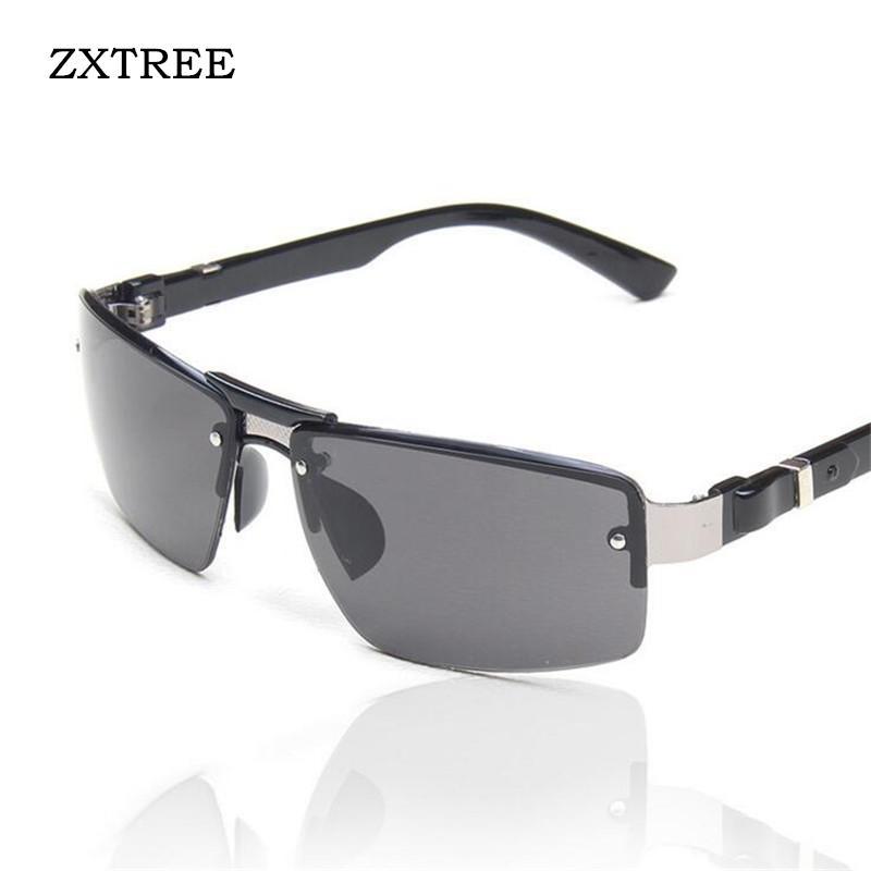 Großhandel Zxtree Halbrahmen Pilot Sonnenbrille Männer Auto Outdoor ...