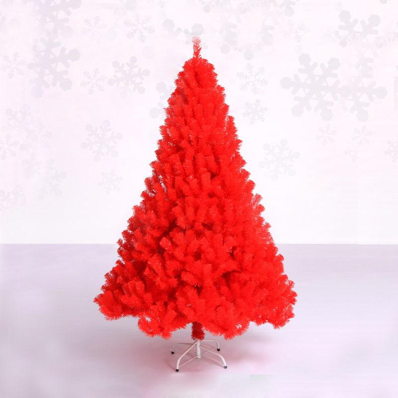 Compre 1.8 M / 180 Cm Cifrado De Lujo Árbol De Navidad Pvc Árbol De ...