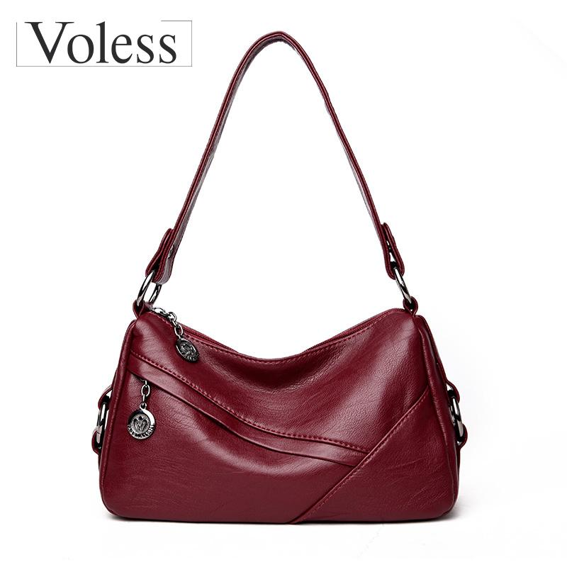 3a786f4d4e91 Vintage Hobos Tote Women Messenger Bags Designer Ladies Hand Bags Leather  Women Crossbody Bag Spring Pochette Sac A Main Femme Satchel Handbags White  ...