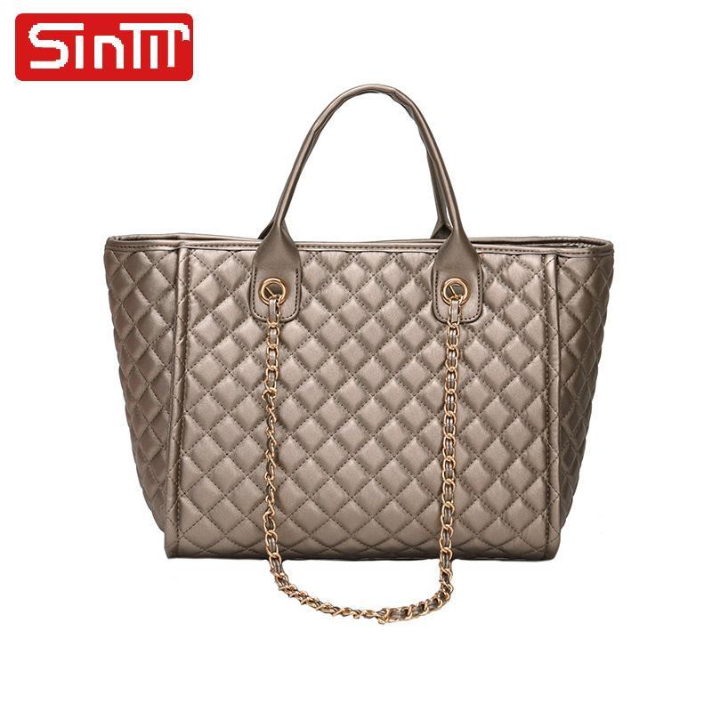 face3ae02d29da SINTIR Famous Brand Totes Bags Fashion Composite Bags Classical PU ...