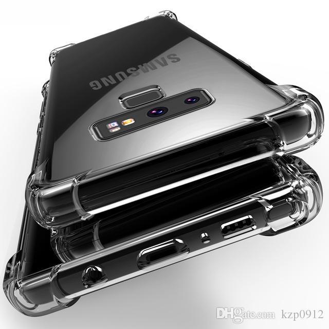 coque note 9 samsung silicone transparent