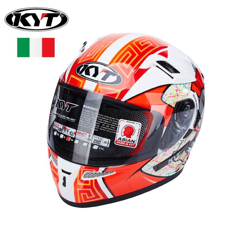 Kyt Full Face Motorcycle Helmets Motogp Racing Helmet Dual Lens Visors Men Motorbike Moto Casco Dot Approved Which Wholesale
