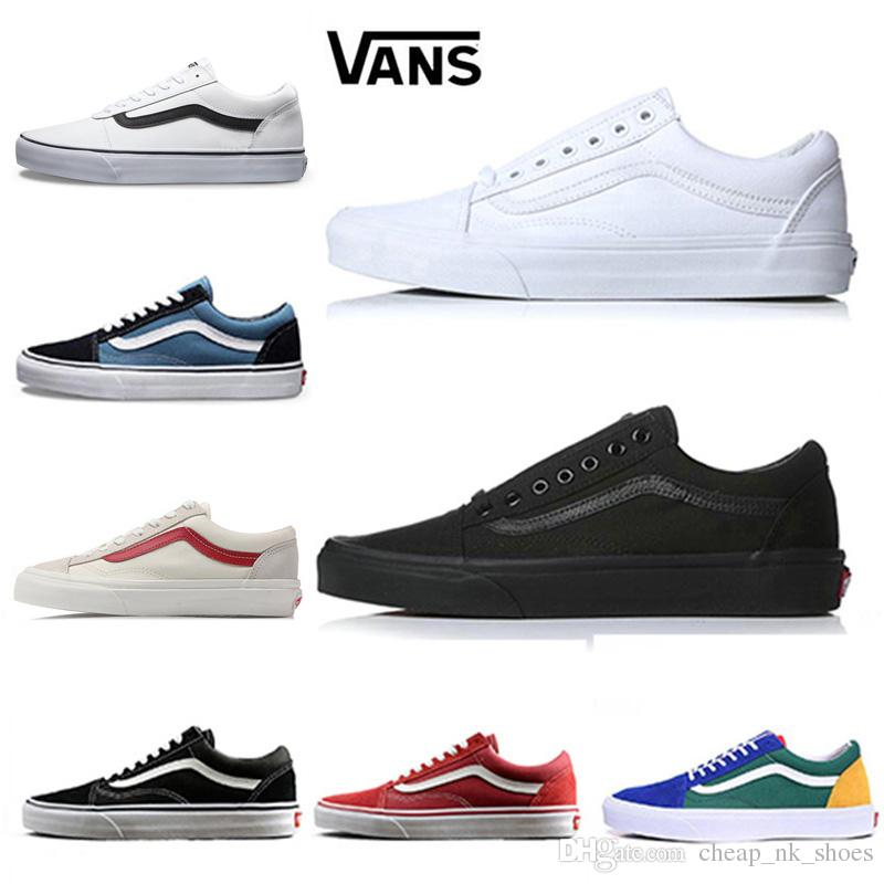 vans old skool black damen günstig