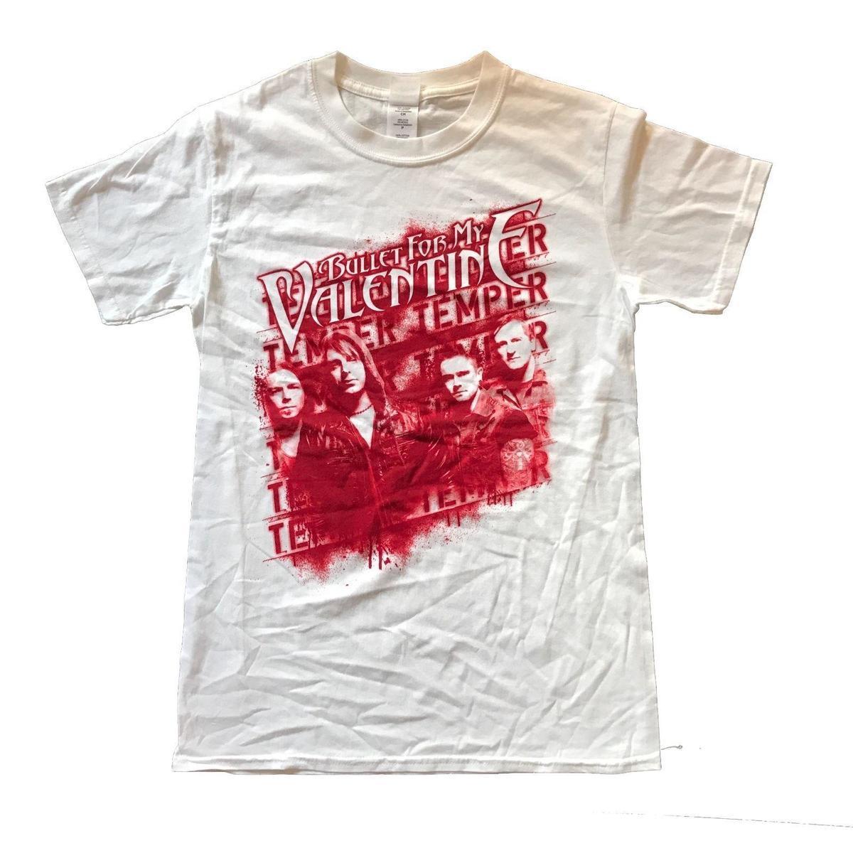 Großhandel Bullet For My Valentine Temper Temper Camiseta Oficial