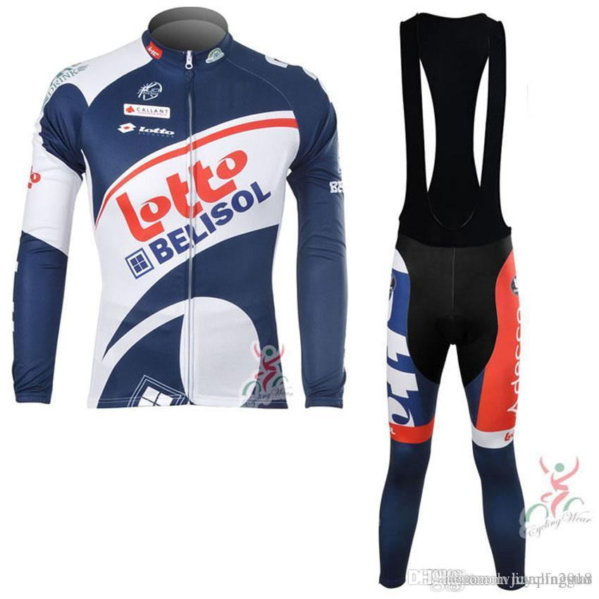 New LOTTO Cycling Clothing Ropa Ciclismo Long Sleeves Men s Cycling Jerseys  Suit Autumn MTB Bike Sportswear Cheap Clothes China D0107 Cycling Jerseys  Ropa ... 6009483eb