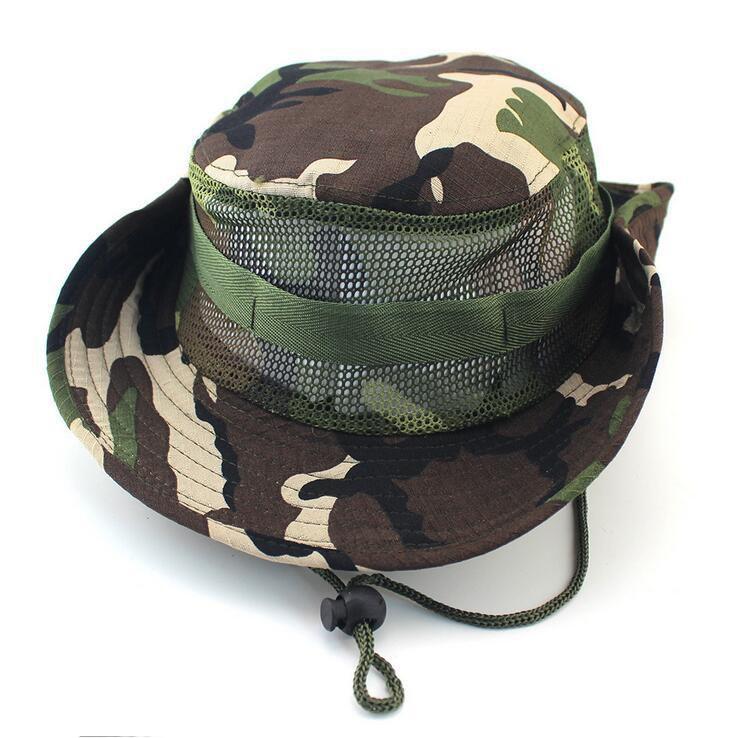 Compre Gorras De Camuflaje De Deporte Al Aire Libre Sombrero De Pescador  Sombreros De Pesca Senderismo Traving De Malla Sombrero De Sun Moda De Pesca  De ... f3ed2a7f9cf