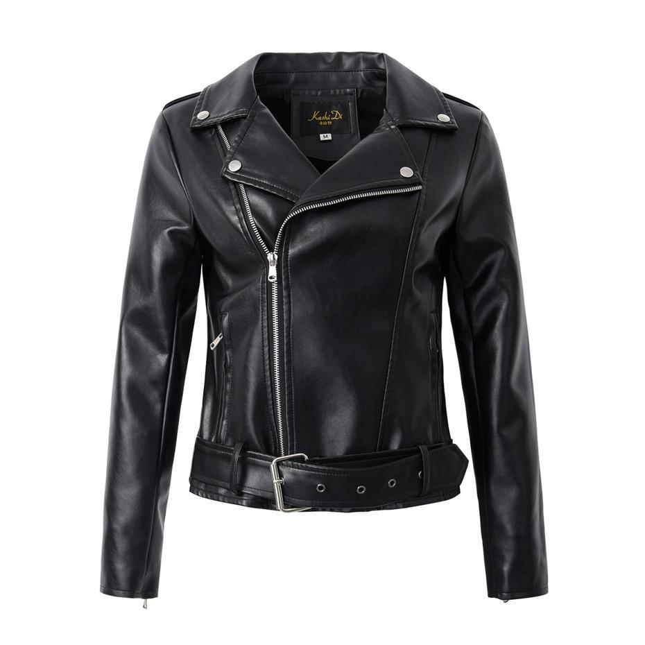 2f83370180d Cheap Brown Motorcycle Leather Jacket Women Best Ladies Leather Bomber  Jackets