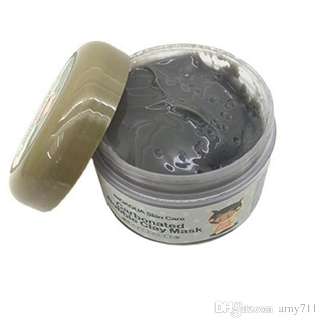 HOT Black Mask Milky Piggy Carbonated Oxygen Bubble Clay Mask 100g Blackhead Acne Remove Purifying Pores Face Care Mud Sleeping Mask