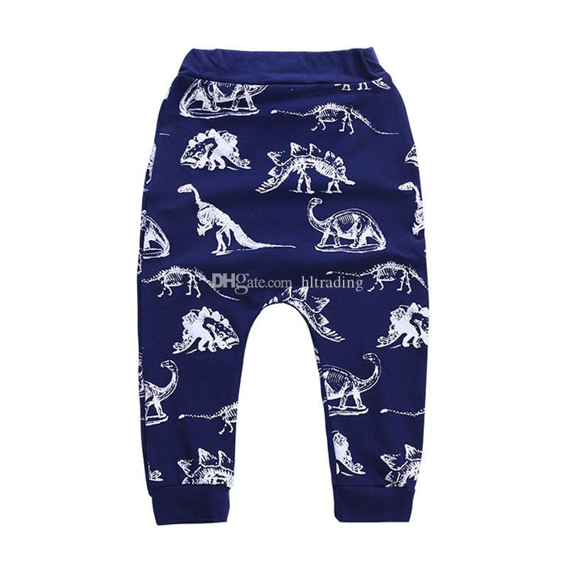 الأطفال بنين تتسابق ins ديناصور إلكتروني طباعة تي شيرت + السراويل ديناصور 2 قطعة / المجموعة 2018 الصيف دعوى بوتيك الاطفال الملابس مجموعات C4300