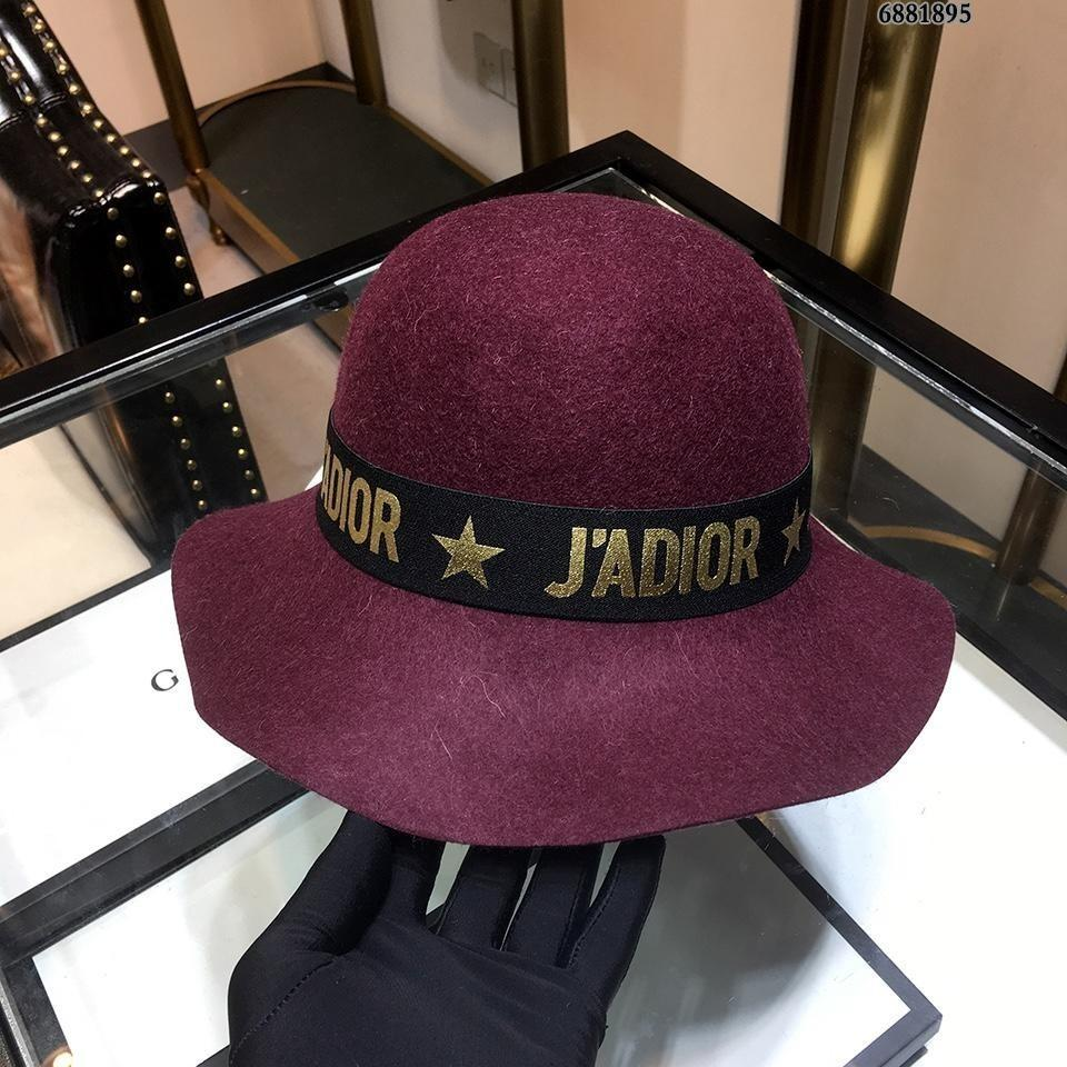 a871aba43b3 2019 High End Wool Cashmere Peaked Beanie Cap Wool Yarn Hats Autumn And Winter  LADIES Wide Brim Sun Hat 23116 From Xiaopi1008, $66.34 | DHgate.Com
