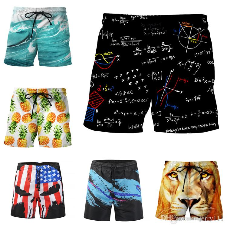 Acquista Studenti Mens Beach Shorts 16 Disegni 3D Stampa Pantaloncini Da  Basket Casual Moda Uomo Pantaloncini Sportivi Big Boys Pantaloni LA690 2 A   9.32 ... c42935cabd2f