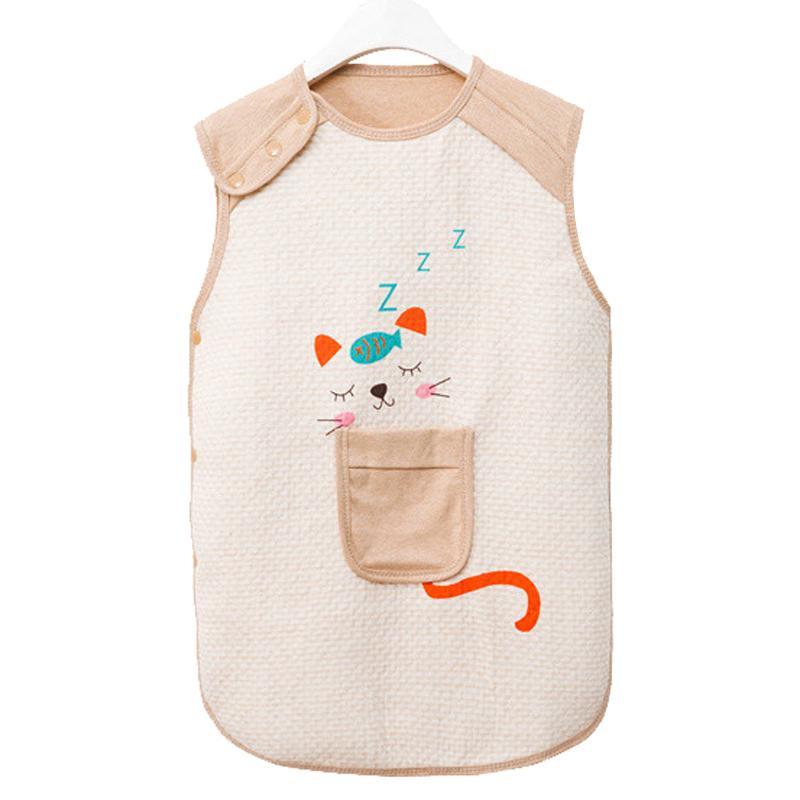 Baby Blanket Sleeper Newborn Sleeping Bag Natural Organic Cotton Sleepwear  Summer Robes For Infant Toddler Kids Boys Girls Sports Sleeping Bags For  Kids ... f908b72b2