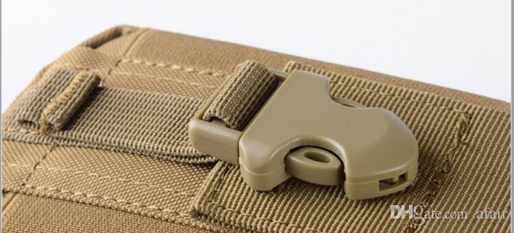 Étui tactique étui militaire molle hanche ceinture sac universel camouflage extérieur téléphone portable taille portefeuille portefeuille pochette sacoche pour iphone x 8