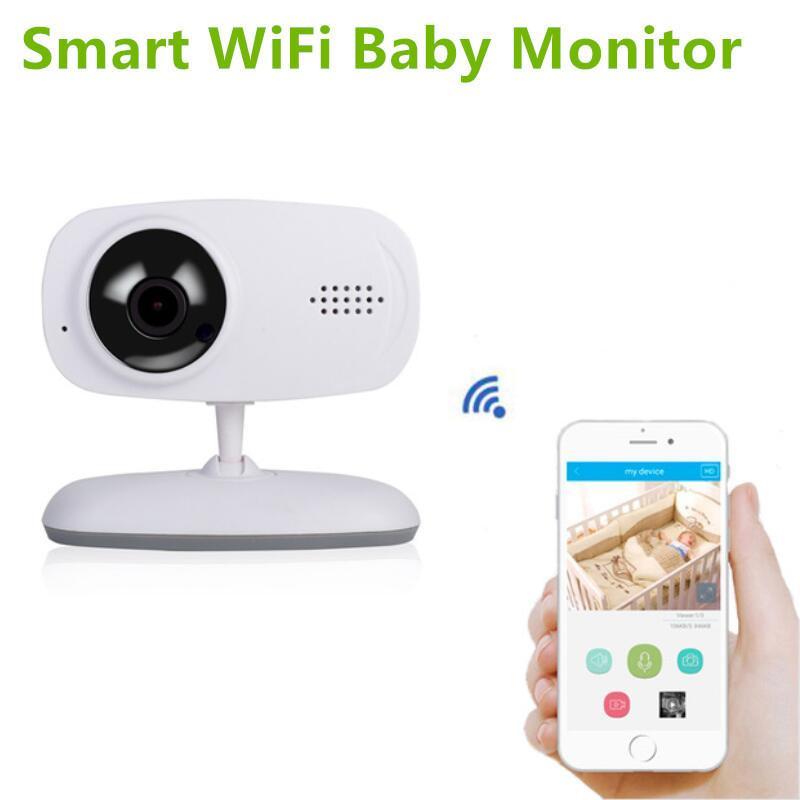 Smart Wifi Baby Monitor Video Nany 720p Ip Camera Night Vision