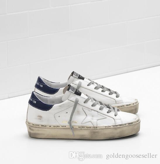 c99665dc99750 Italy Golden Goose GGDB Women Shoes Junior Flat HI STAR Sneakers ...